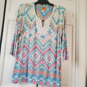 Spring colored tunic